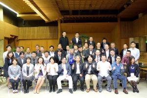 松山で毎年開催されている助成金勉強会の集合写真