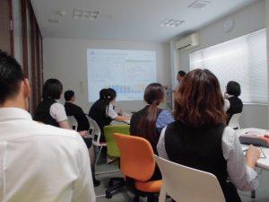 コンピュータウィルスに対抗するためのBCP訓練風景